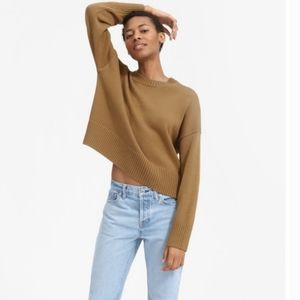 Everlane 🖤 Soft Cotton Square Crewneck Ochre